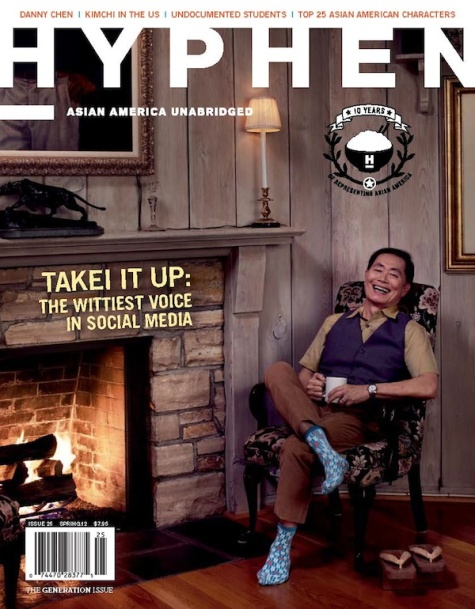 Hyphen Issue 25 George Takei Generations Issue